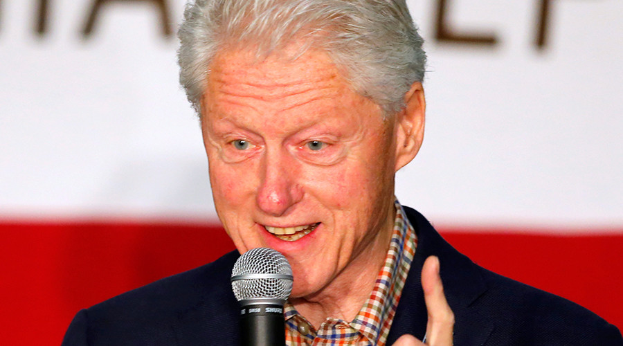 Bill Clinton was once again asked to justify the Violent Crime Control and Law Enforcement Act of 1994 on Friday at an event for Hillary Clinton's campaign in Paterson, New Jersey